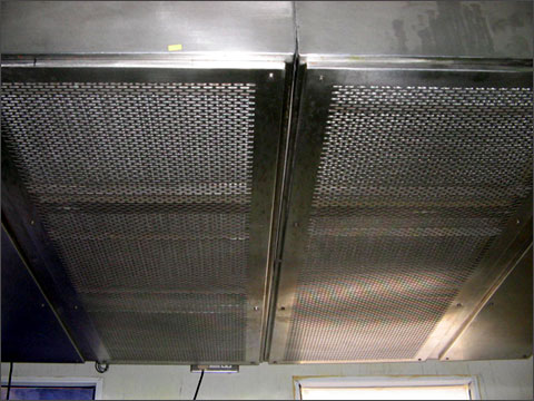 Laminar Airflow System in Isolation Room