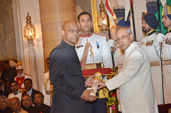 Indian Government Honors Dr Alla Gopala Krishna Gokhale With Padma Shri 2016