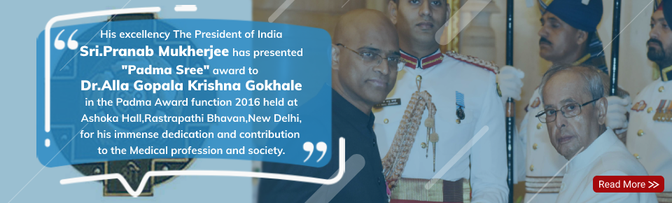 Padma Sree Award to Dr Alla Gopala Krishna Gokhale